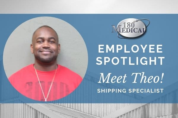 Theo, 180 Medical Shipping Specialist