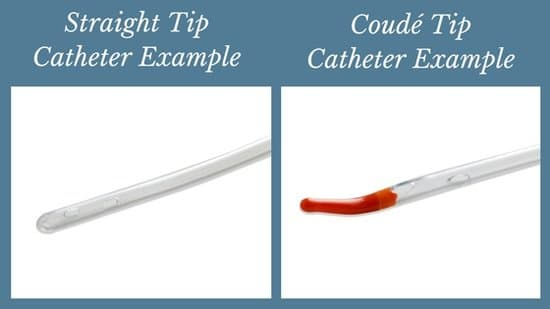 catheter tip comparisons straight tip vs coude tip catheters