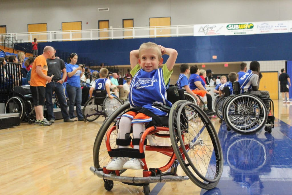 ryder wheelchair basketball