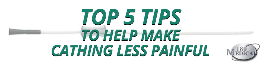 top 5 tips to help make cathing less painful