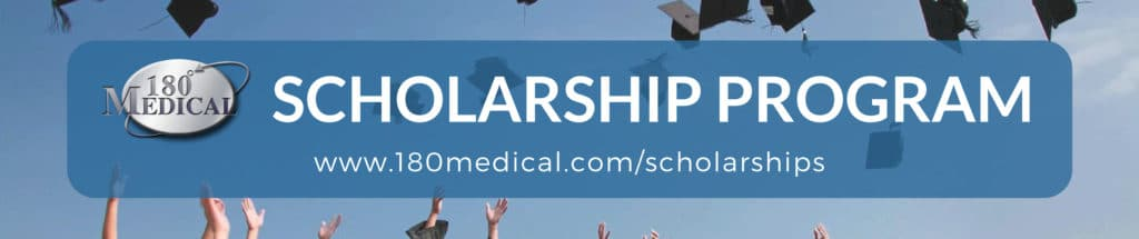 180 medical scholarship footer