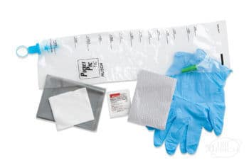 Rusch PocketPac Catheter Kit contents