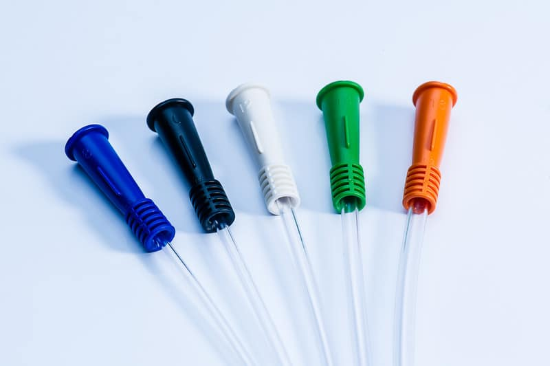 gentlecath color coded funnels catheters