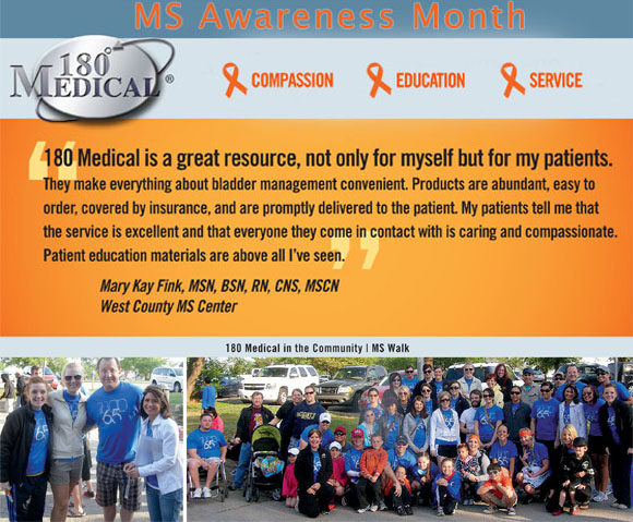 180 medical at ms walk 2014