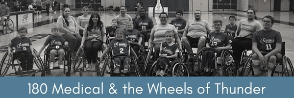 okc wheels of thunder and 180 medical team