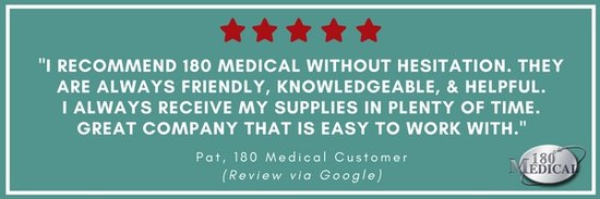 180 medical customer review