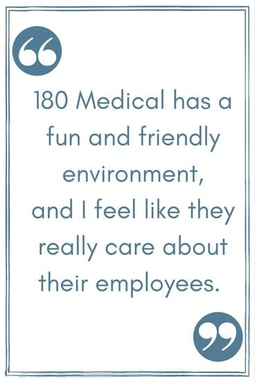 crystal 180 medical billing employee testimonial quote