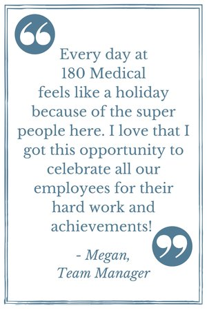 180 medical manager quote employee appreciation day
