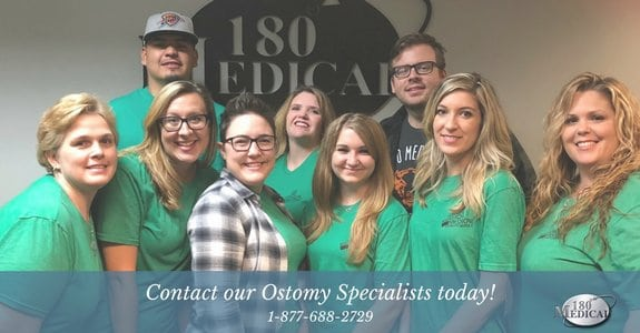 180 medical ostomy product experts specialists