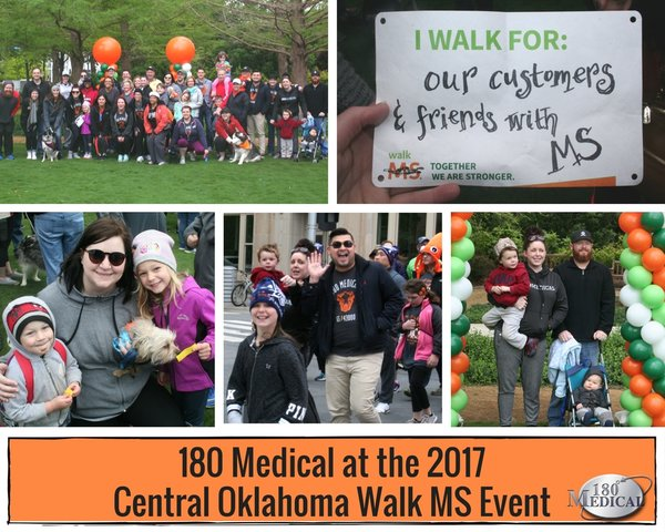 180 Medical at the 2017 Oklahoma City Walk MS Event