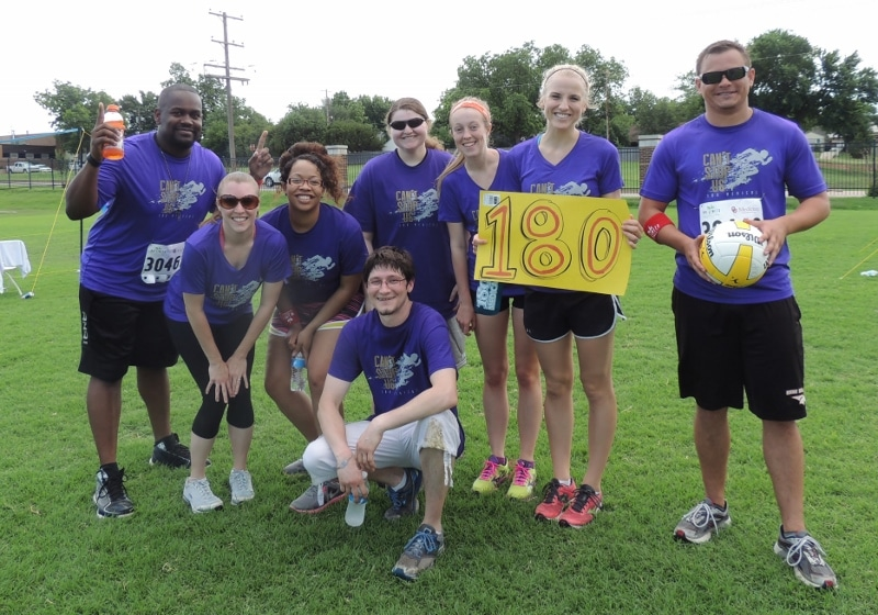 180 Medical team plays for OU corporate challenge