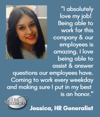 jessica 180 medical employee quote