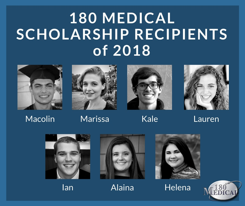 180 Medical Scholarship Recipients