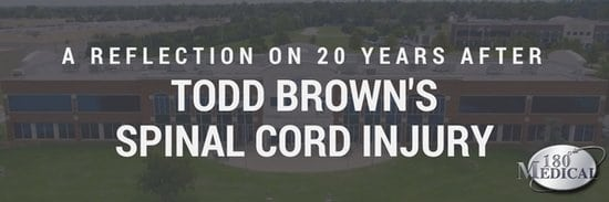 20 years after todd brown's spinal cord injury