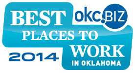 Best Places to Work in Oklahoma 2014 Logo