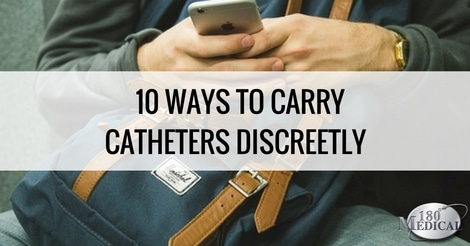 10 ways to discreetly carry your catheters blog header