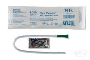Cure Medical Pocket Catheter with lubricant