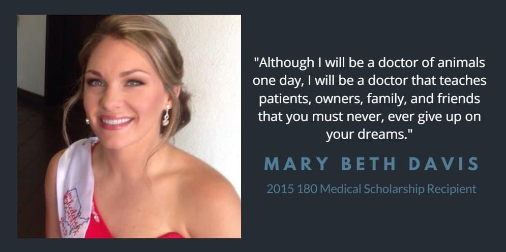 mary beth davis scholarship quote