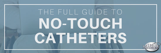 no-touch catheter guide