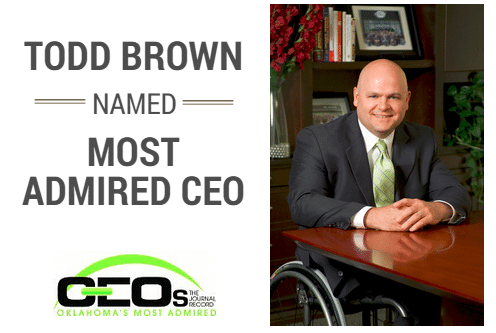 todd brown most admired ceo