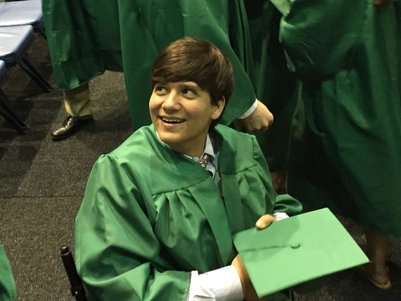 will k graduation pic