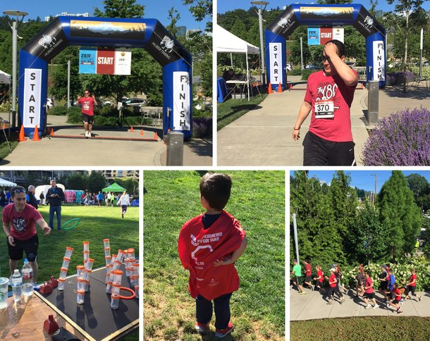 More pictures from the ZERO Prostate Cancer event in Portland