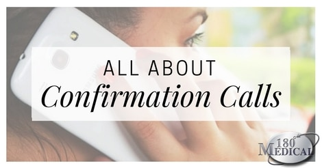 all about confirmation calls