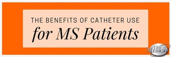 benefits of using catheters for MS