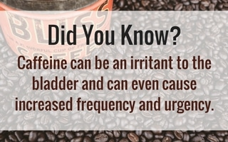 caffeine and bladder health fact