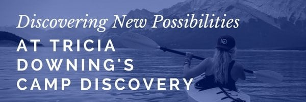 Camp Discovery blog title header