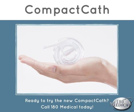 compactcath intermittent urinary catheter