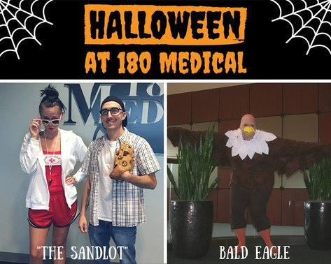2016 halloween at 180 medical