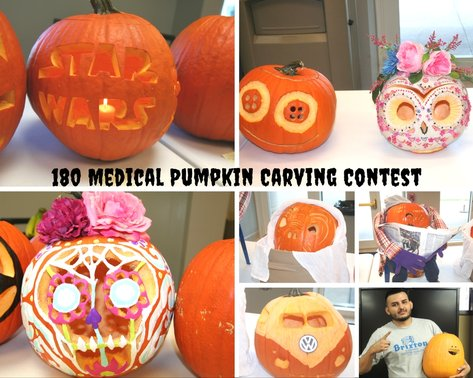 Entries from this year pumpkin carving contest