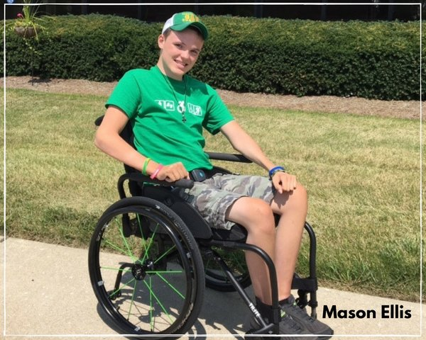 mason ellis quadriplegic self-cathing