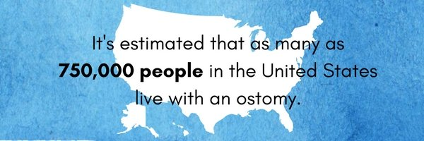 number of ostomates living in the usa