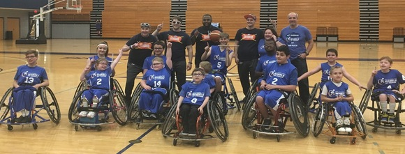 okasa wheels of thunder wheelchair basketball team