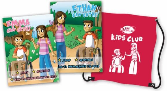 Boys and Girls Self-Cathing Instructional Materials