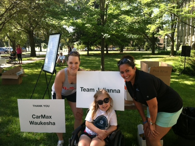180 medical at 2013 sprint for spina bifida
