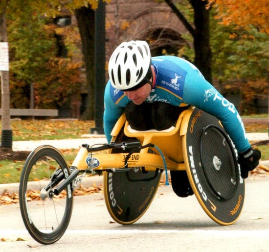 180 medical founder todd brown wheelchair racing