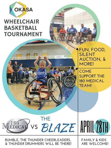 okasa wheelchair basketball tournament 180 medical