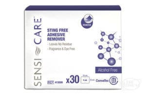 Sensi-Care Sting Free Adhesive Remover Wipes