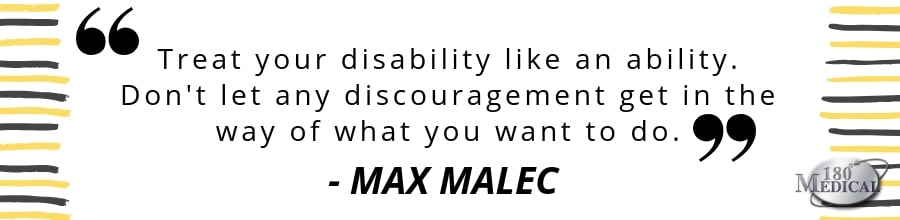 max malec disability quote