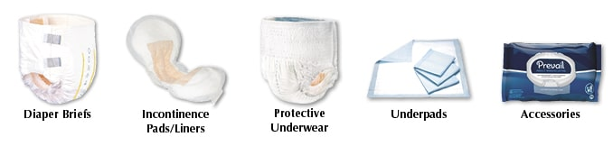 Incontinence Products at 180 Medical
