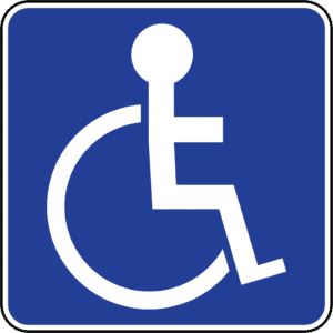 disabled driver