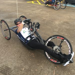 james hand cycling