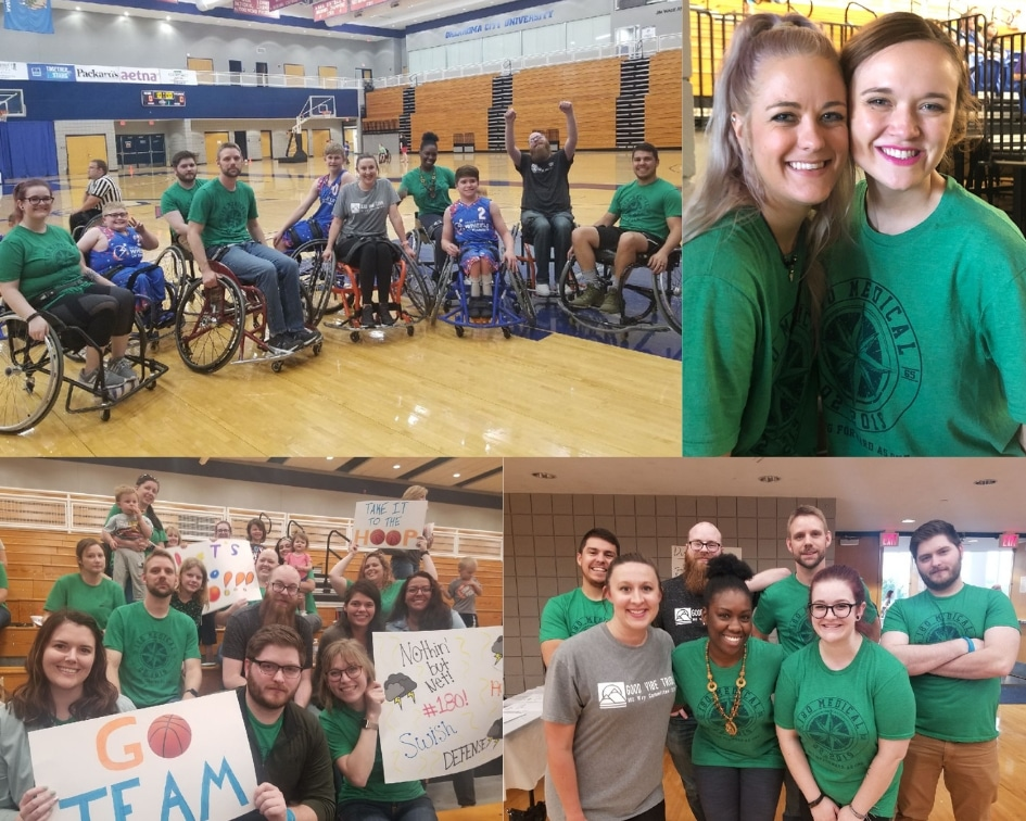 180 medical at 11th annual wheelchair basketball tournament