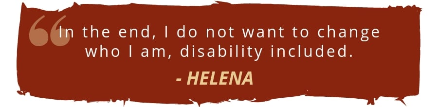helena spina bifida disability quote