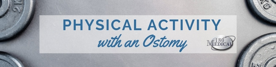 physical activity with an ostomy header