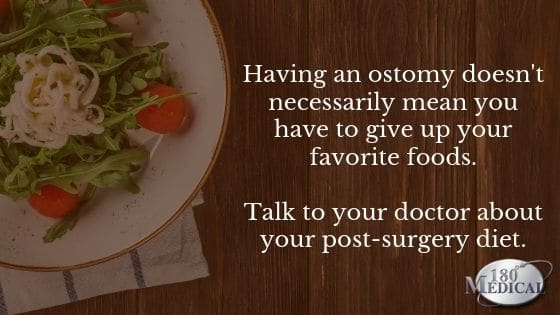 diet and ostomy
