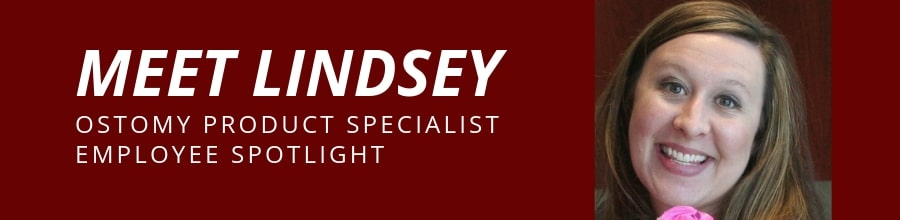 employee spotlight lindsey ostomy product specialist at 180 medical